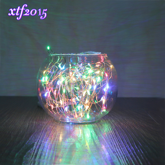 2M LED Waterproof Copper Wire String Lights Christmas Festival ...