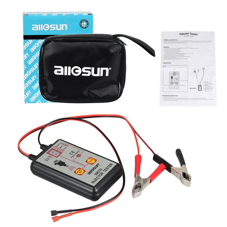 Image 5 - All Sun Professional EM276 Injector Tester 4 Pluse Modes Powerful Fuel System Scan Tool EM276 Injector Tester-in Electrical Testers & Test Leads from Automobiles & Motorcycles