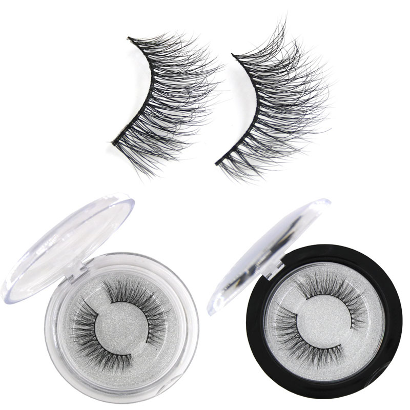 YOKPN Charm Mink 3D Hair Curl Eyelashes Natural Soft Long Lashes Volume Reusable Eye Lashes Real Mink Fur False Eyelash 1 Pair