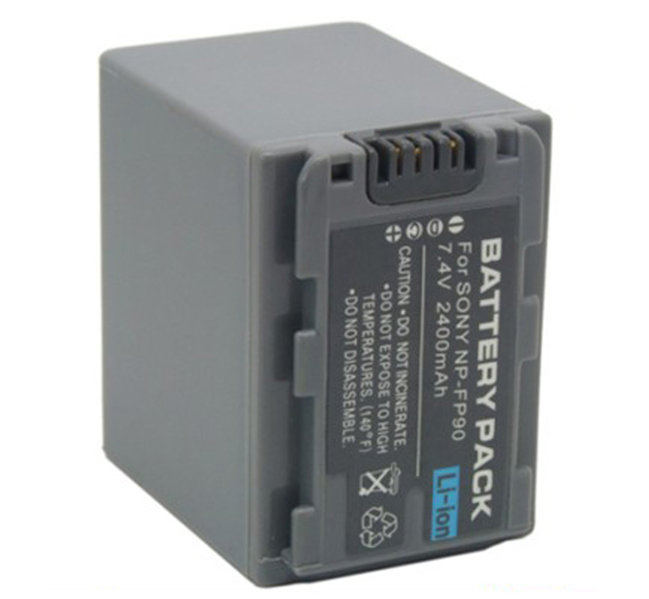Rechargeable Lithium-Ion Battery Pack for Sony NP-FP30 NP-FP50 NP-FP60 InfoLITHIUM P Series