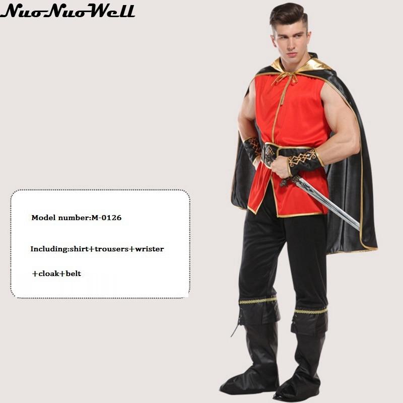 Nuevo Adulto Caliente Romano Antiguo de Rol Ropa de Fiesta de Carnaval de La Mascarada de Halloween Hombres Traje de Soldado