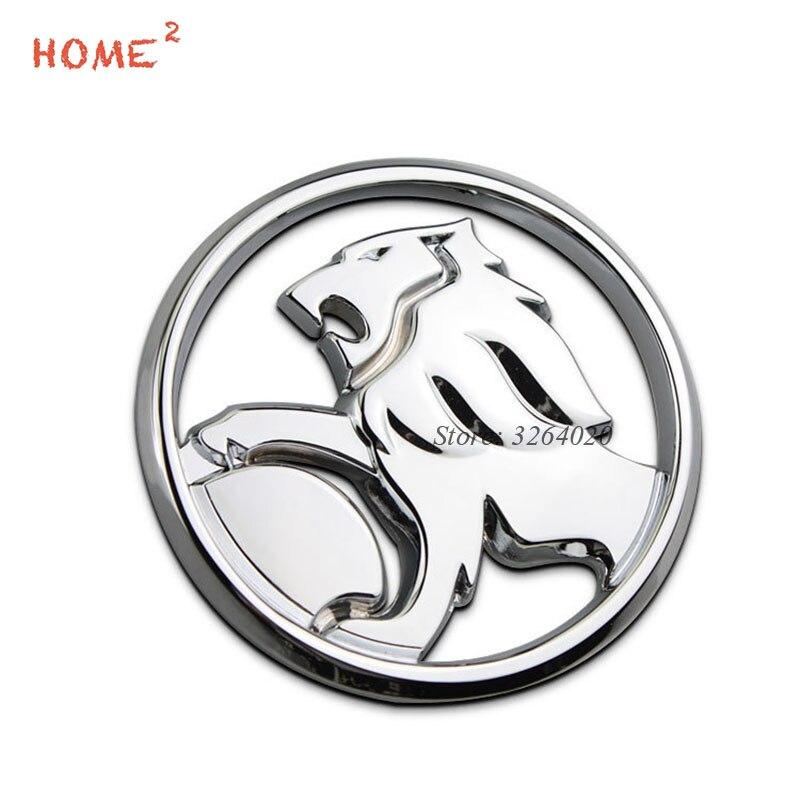 9,5 см стайлинга автомобилей 3D Лев логотип наклейки металлический значок эмблема для Holden commodore Колорадо ВПГ cruze captiva barina украшения