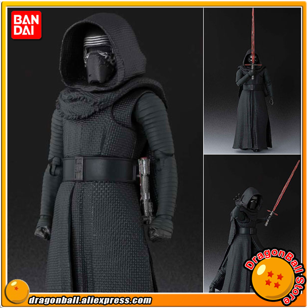 StarWar: The Force Awakens Original BANDAI Tamashii Nations SHF/ S.H.Figuarts Action Figure - Kylo Ren 2016 new 26cm movie the force awakens the black series kylo ren cartoon toy pvc figure model action figures