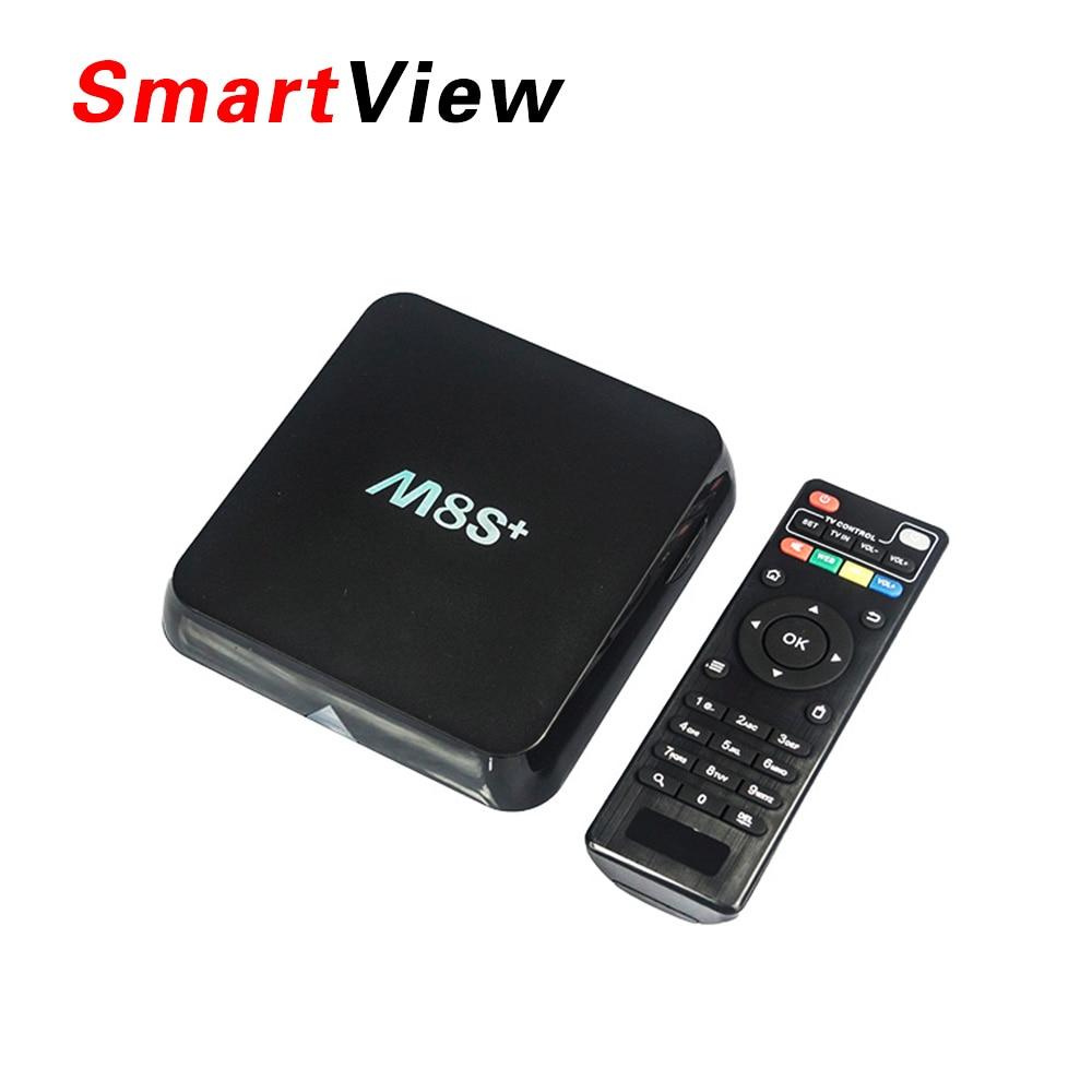 10 unids M8S Plus Android 5.1 TV Box Amlogic S812 Quad Core 2.4G y 5G Wifi M8S +