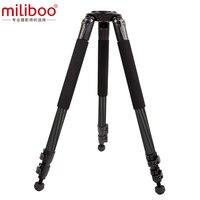 Miliboo MTT701B без головки штатив из углеродного волокна для профессиональной DSLR камеры нагрузка 25 кг максимальная высота 160 5 см/62 5