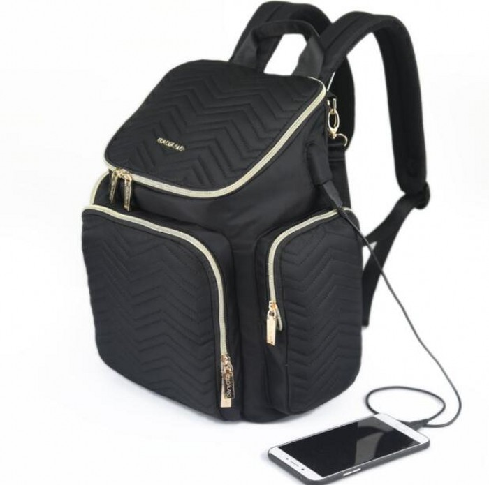 Nappy backpack Europe shoulder mummy bag Multifunctional Pocket large mom bag baby diaper bag maternity supplies