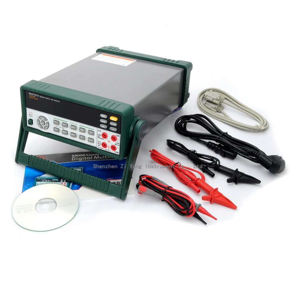 MASTECH <font><b>MS8050</b></font> 53000 Counts VFD Display Autoranging Bench Top Multimeter High Accuracy True RMS RS232C image