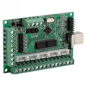 Image 4 - Mach3 placa de interface usb mach3 cartão de controle de movimento placa de interface usb para máquina gravura cnc controlador