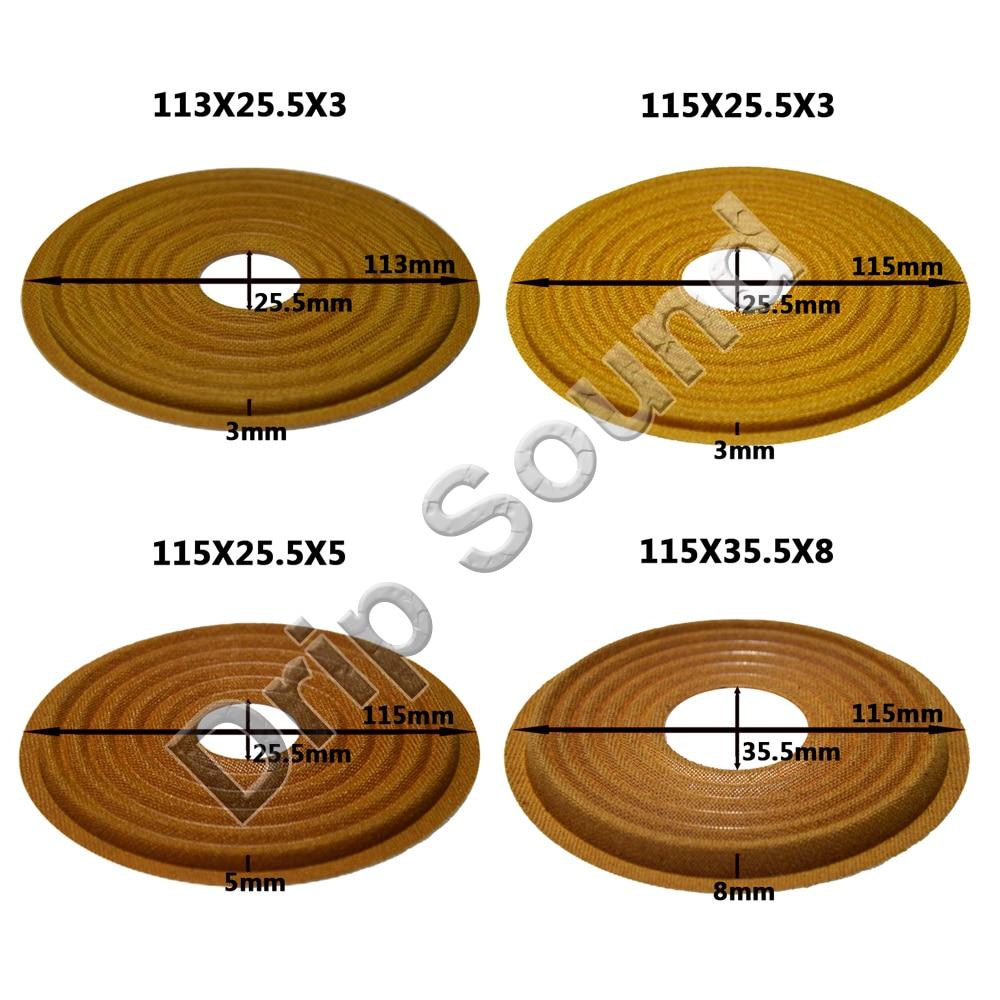 20.4MM 20 Core Dome TREBLE Voice Coil BLACK Silk Diaphragm 8OHM Speaker Repair