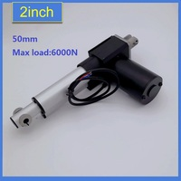 High Quality Heavy Duty DC Electric 12V 6000N 4000n 1500N Linear Actuator For Bed Sofa Furniture 50mm 1pc