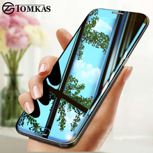 TOMKAS For Samsung Galaxy S7 Edge Screen Protector Glass 3D Edge To Edge Coverage For Samsung Galaxy S6 Edge Tempered Glass