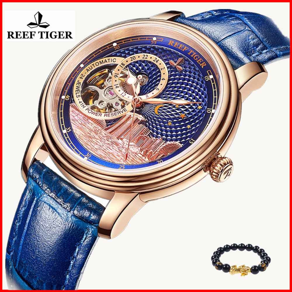Fashion Watch Mechanical-Watch Rose-Gold Tourbillon Tiger/rt Top-Brand Mens Luxury Feminino
