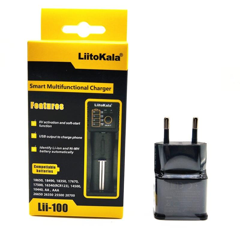 NOUVEAU LiitoKala Lii-100 lii-202 Lii-402 18650 Batterie Chargeur Pour 26650 16340 RCR123 14500 LiFePO4 1.2 V Ni-MH Ni-Cd smart