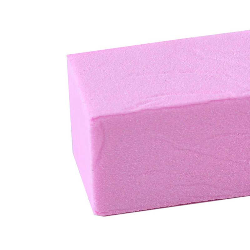 1 piezas. 6 colores para Gel UV, lima de uñas blanca, bloque de amortiguación, esmalte de manicura, pulidor de uñas, lijado de pedicura arte del clavo de la herramienta