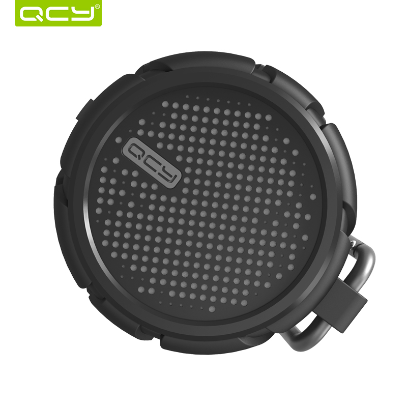 QCY BOX2 outdoor speaker wireless Bluetooth stereo speakers IPX7 waterproof support 3.5mm aux sound for cycling beach shower