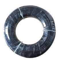 100 м 3/8 дюйма Внутренняя Диаметр 5,5 мм наружный диаметр 9,52 мм высокой Давление нейлон трубы для Gareden туман охлаждения системы