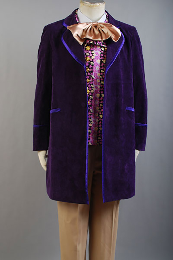 Willy Wonka and the Chocolate Factory Gene Wilder 1971 Cosplay Outfit Costume