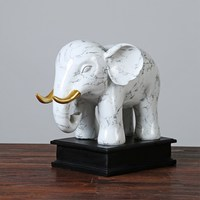 High Grade Elephant Home Decoration Living Room Tv Cabinet Ornaments Resin Crafts Home Decoration Wedding Decoration Gifts