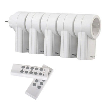 EU Smart Socket Remote Control Power Outlet 433 mhz wireless Light Switch Plug Smart Home Mains EU Plug Support Broadlink rm pro