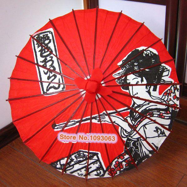 4c89e9f2e533f Japanese Umbrella 64CM Diameter Ukiyo e Variety Pattern-in Umbrellas ...