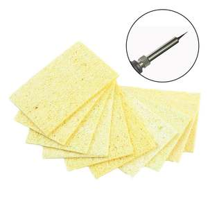 P25 10 pcs/Lot Cleaning Accessories Soldering Iron Solder Tip Welding Cleaning Sponge
