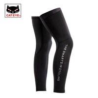 CATEYE Running Leg Warmers Outdoor Sports Safety Leg Cover Sleeves Lycra UV400 Men Women Cycling Knee