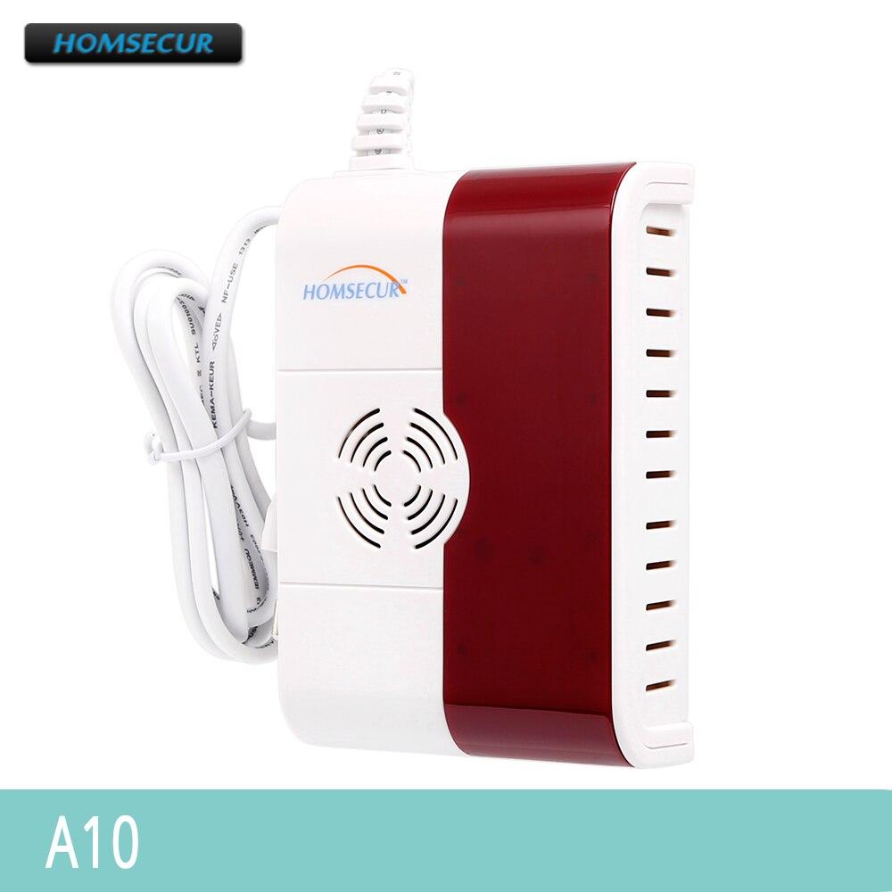 HOMSECUR 433MHz A10 Wireless Gas Carbon Monoxide Detector HOMSECUR For 433MHz Alarm SystemHOMSECUR 433MHz A10 Wireless Gas Carbon Monoxide Detector HOMSECUR For 433MHz Alarm System