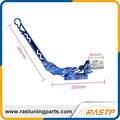 RASTP-Ajustável de Alumínio Cilindro Mestre Hidráulico Vertical Deriva do Freio de Mão com Especial LS-HB008 Azul Preto Vermelho Prata