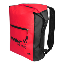 25L Waterproof Dry Bag Backpack for Kayaking Rafting Drifting Canoeing Swimming Storage Bags naturehike 40l rafting waterproof bag beach rafting kayaking phone outdoor cycling camel bag backpack swimming bag