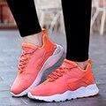 Moda Transpirable Air Mesh Zapatos Para Caminar Ligeros Zapatos de Mujer Suave Al Aire Libre Ocasional de Las Mujeres Pisos Zapatillas Deportivas Mujer