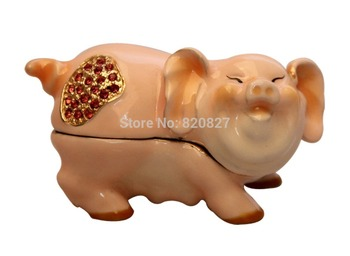 Hot-selling pig piggy bank metal piggy bank piggy bank gift pig shape money box pig jewelry box стульчик для кормления сенс м серия babys лакированный арт piggy piggy