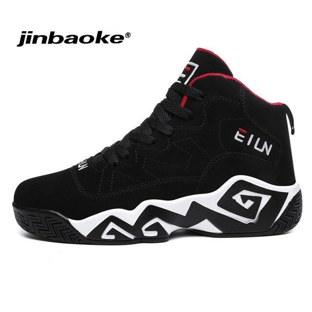 JINBAOKE Büyük Boy Superstar basketbol ayakkabıları Erkekler için Hava Sönümleme Spor Yastığı Sneakers Örgü Eğitmenler Sepeti Femme Zapatillas