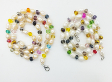 Promocja od fabryki!! 6-7MM naturalne perły słodkowodne kryształ Klasyczny damski naszyjnik z pereł 18 #8243 tanie tanio NoEnName_Null Miedzi Kobiety Chokers naszyjniki TRENDY Strand Pearl Moda