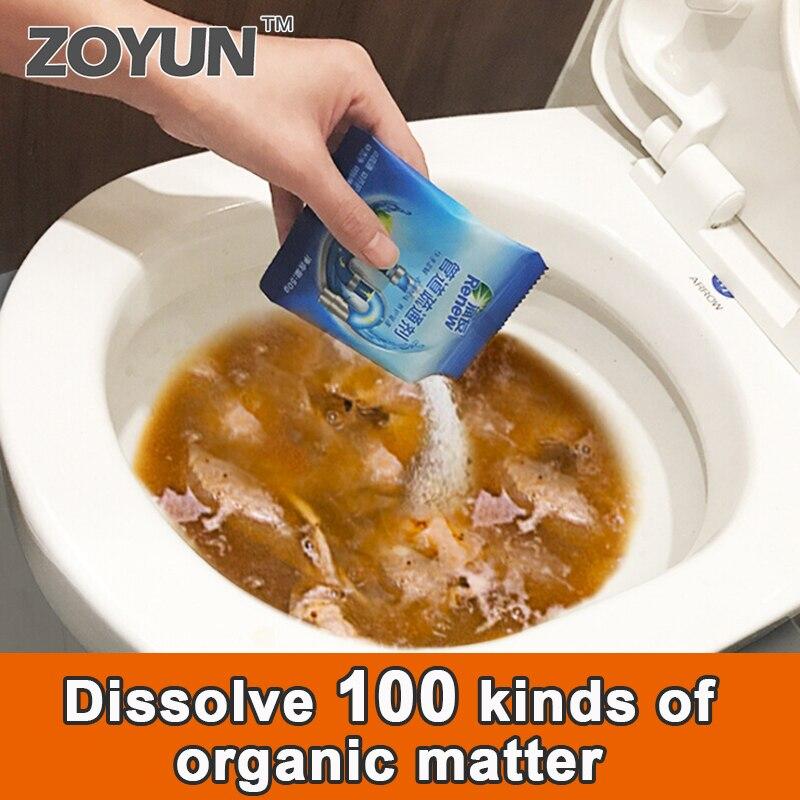 1 Uds limpiadores de drenaje agente fuerte de dragado de tuberías tubería de agua de cocina alcantarillado inodoro desodorante limpio