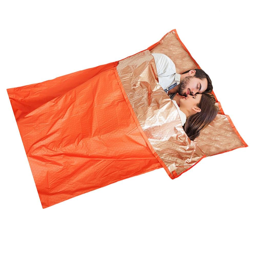 1-2 Person Emergency Bivvy Sleeping Bag Camping Outdoor Survival Adventure Medical 3 Types