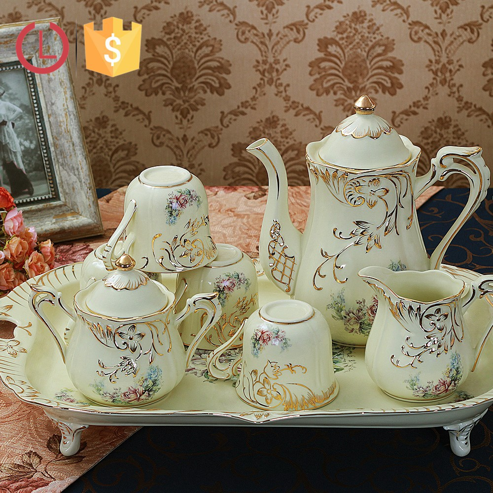 Full Set British Royal Bone China Coffee Drinkware