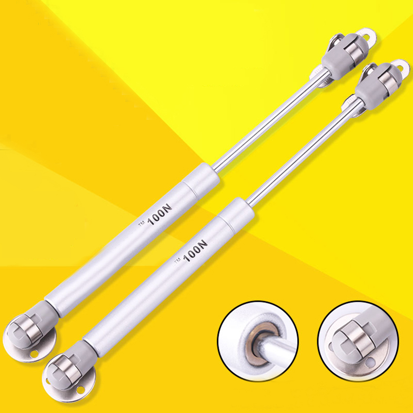 100N /10kg Copper Force Cabinet Door Lift Support Gas Strut Hydraulic Spring Hinge Kitchen Cupboard Hinge Furniture Hardware