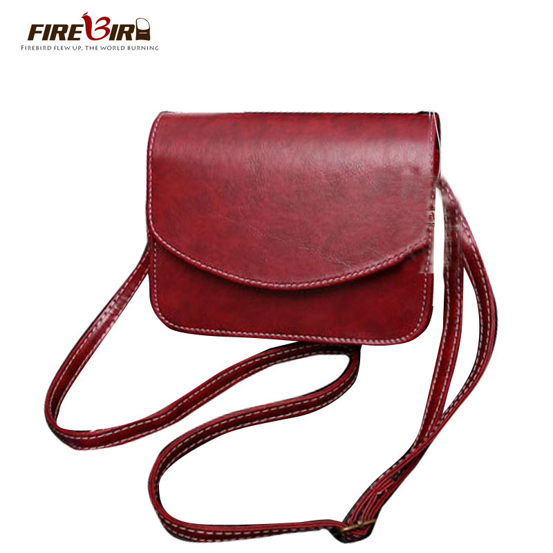 FIREBIRD!2017 Women shoulder bag Brand ladies hand bags Female messenger bags good quality small mini bag Brown Black pouch FN84 japanese pouch small hand carry green canvas heat preservation lunch box bag for men and women shopping mama bag