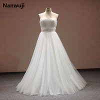 Real Photo Lace Flowers Sweetheart And Sexy Backless Sheath Wedding Dresses Vestidos De Noiva Robe De