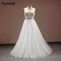 Real Photo Lace Flowers Sweetheart And Sexy Backless Sheath Wedding Dresses Vestidos De Noiva Robe De