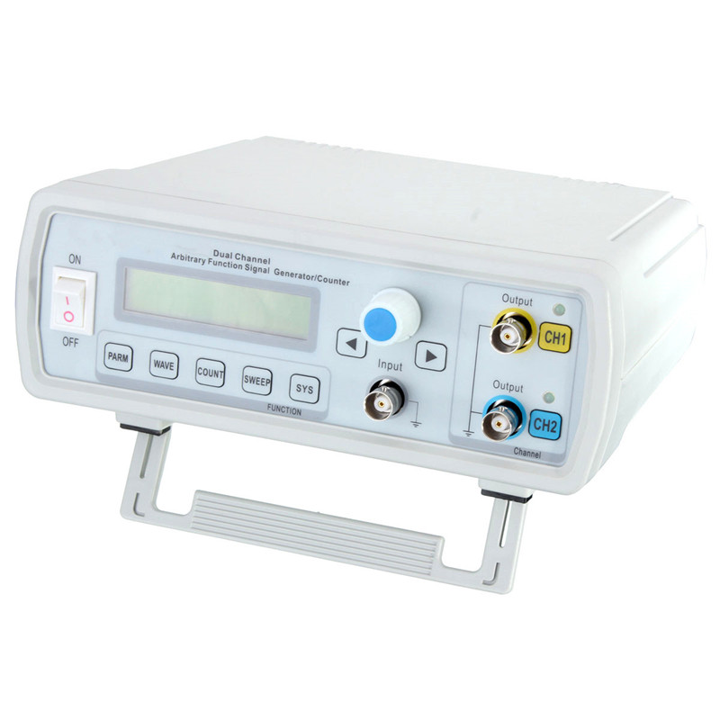 24MHz Dual-channel Arbitrary Waveform DDS Function Signal Generator Sine Square Wave Sweep Counter Waveform/Pulse Frequency Mete essence es6478fe 130