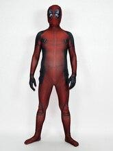 3D printing deadpool Cosplay costume Superhero Bodysuit Lycra Spandex Zentai Halloween Party suit free delivery