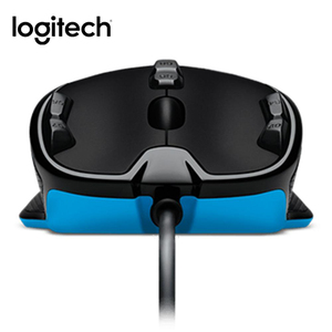 Image 5 - Original Logitech G300s raton Gaming Mouse 2500DPI USB Wired Optical Wensor Both Handed Mouse with 7 Color backlit
