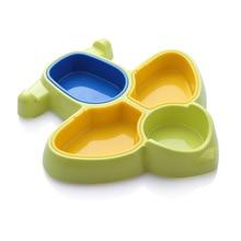Кавайная детская посуда в форме самолета, мультисеточная детская посуда, яркие цвета, детская посуда, милая посуда для малышей