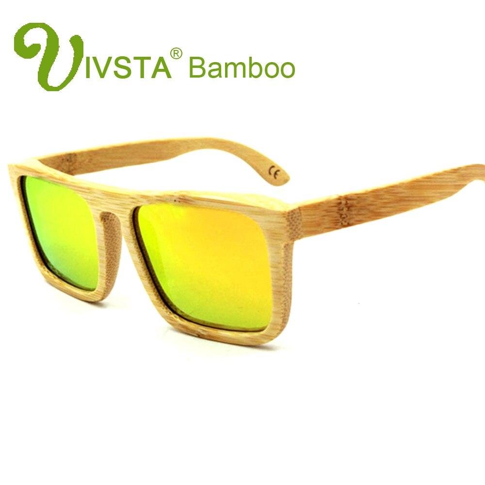 IVSTA Kayu Bambu Kacamata Laki-laki Kacamata Kayu Terpolarisasi - Aksesori pakaian - Foto 5