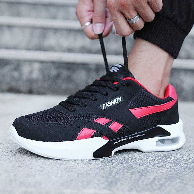 Для мужчин Кроссовки Лето Обувь с дышащей сеткой Спортивная обувь Для мужчин мягкий свет Вес Бег Спортивная обувь Спорт на открытом воздухе...