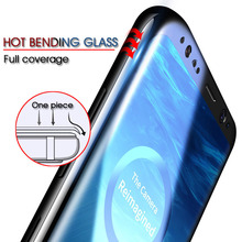 6D Full Curved Screen Protector Film For Samsung Galaxy S9 S9 S10 Plus Tempered Glass Film For Samsung Note 9 8 S10 S7 S6 Edge все цены