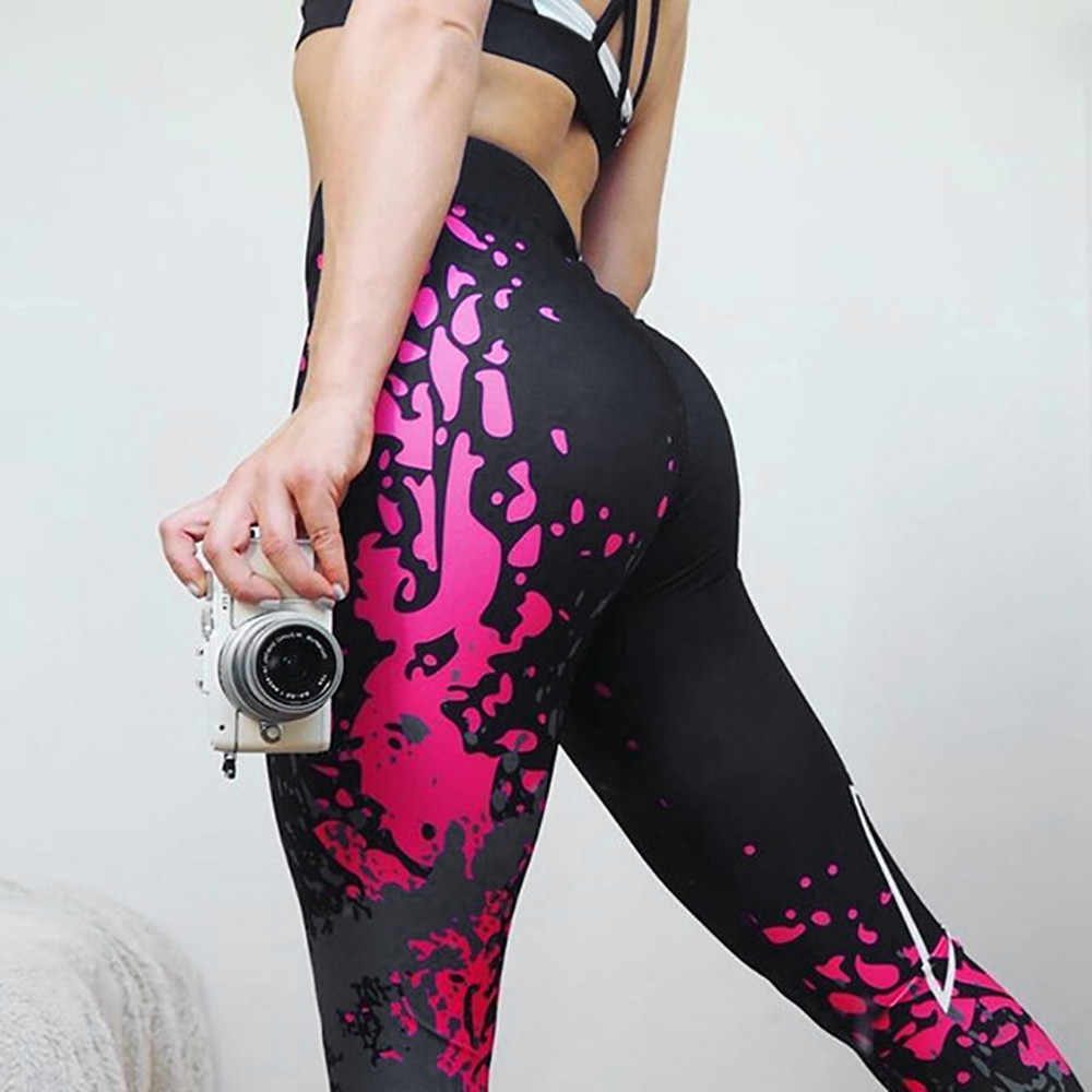 Leggings vrouwen Fashion Workout Leggings Fitness Sport Gym Running Athletic Broek Sexy Workout Leggings Modis # EEN