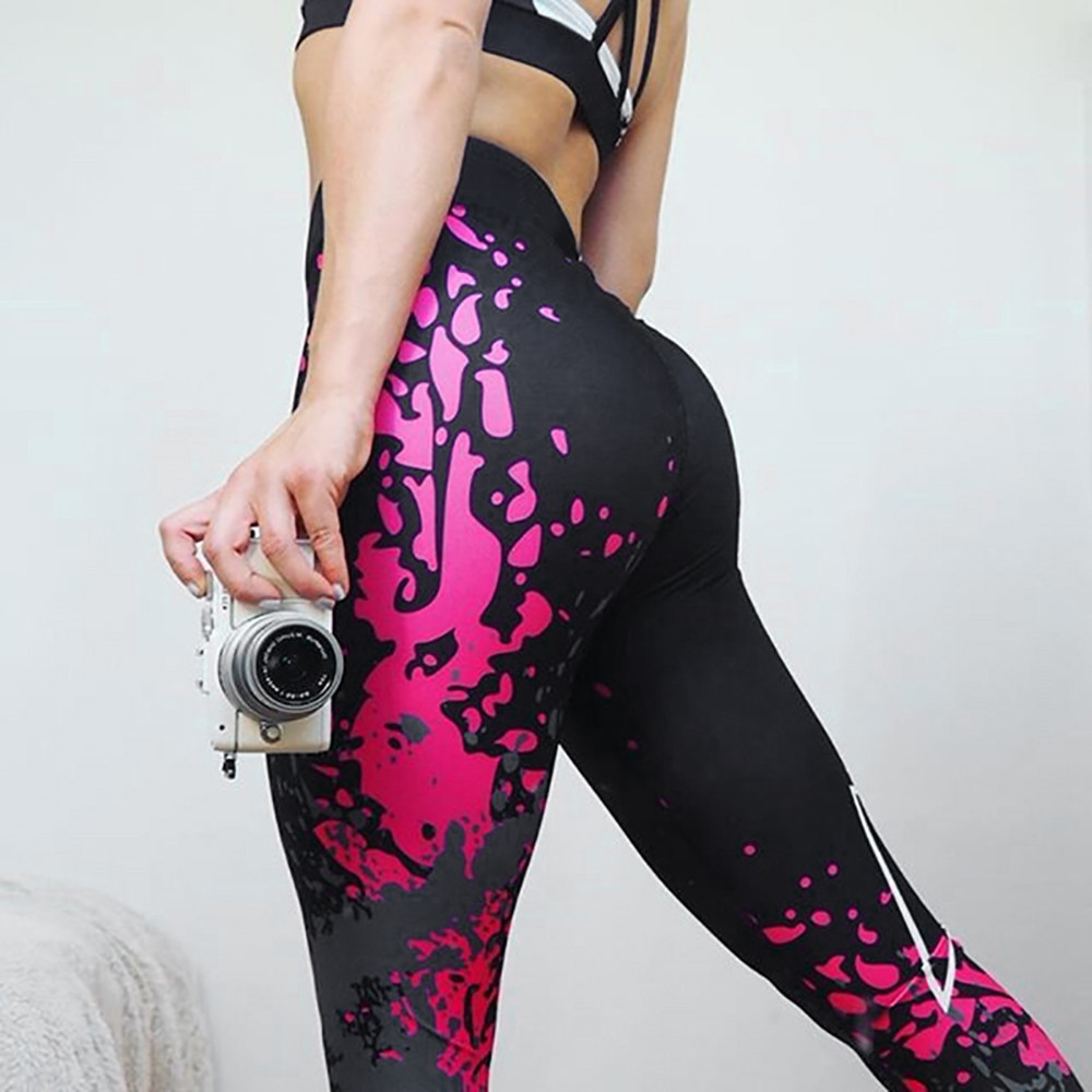 Leggings Women's Fashion Workout Leggings Fitness Sports Gym Running Athletic Pants Sexy Workout Leggings Modis #A
