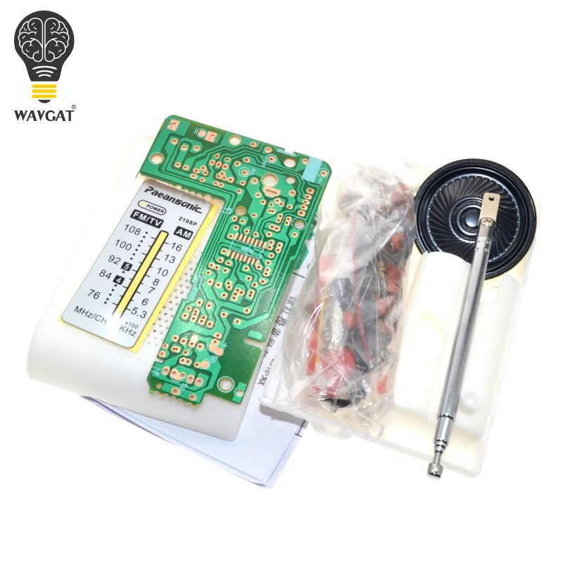 Free Shipping AM / FM stereo AM radio kit / DIY CF210SP electronic prod